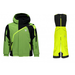 Spyder Mini Challenger Jacket + Expedition pant Jr. 2018