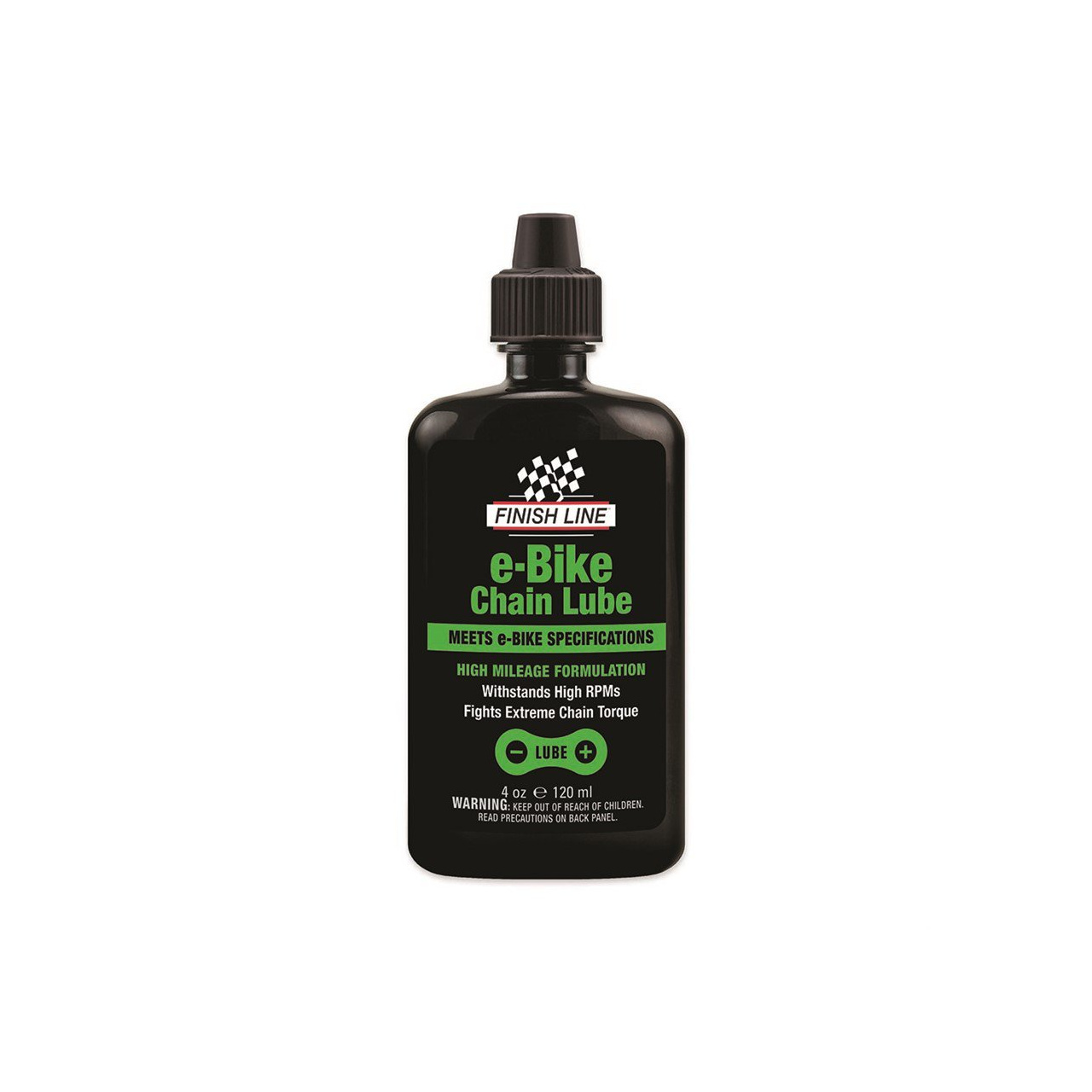 Finish Line E-Bike Chain Lube 4oz/120 ml - kapátko